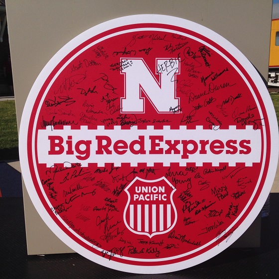 Along The Way With Union Pacific S Big Red Express