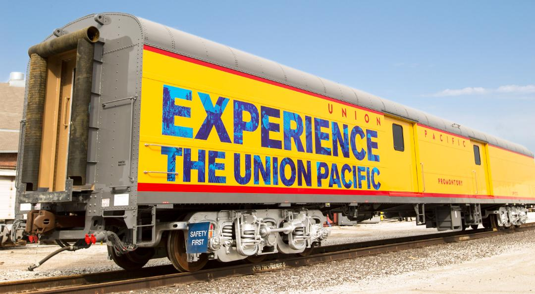 Experience The Union Pacific car exterior