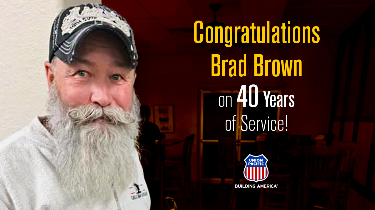 Inside Track: Brad Brown, third generation railroader