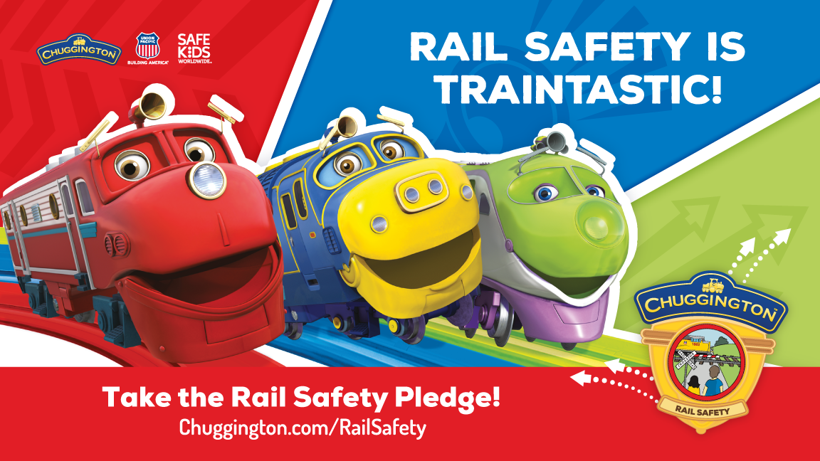 Large Retina | Chuggington Rail Safety Pledge