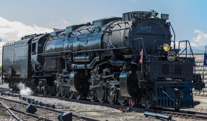 Medium | Big Boy No. 4014 in Ogden