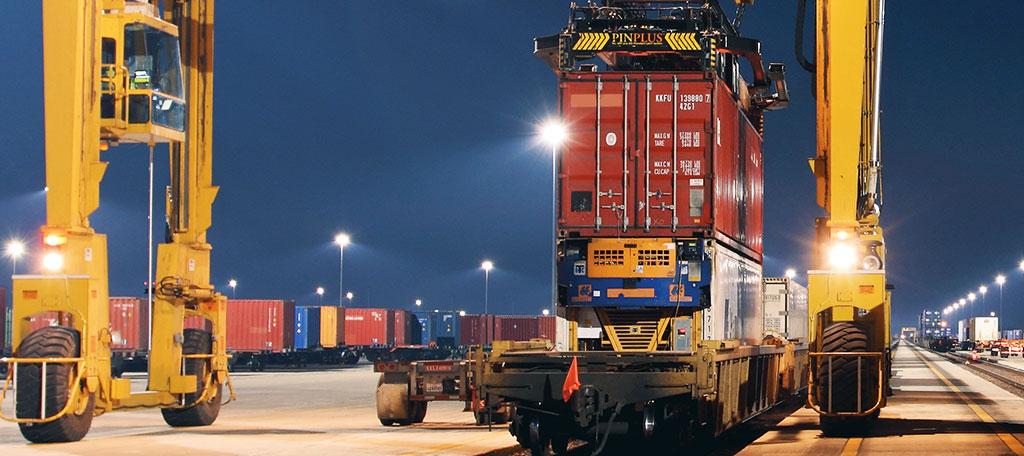 Salt Lake City Container Yard