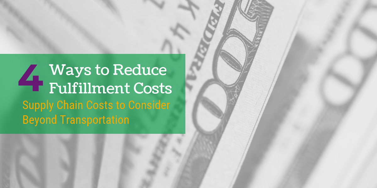 Original | Ways to Reduce Fullfillment Costs MAIN
