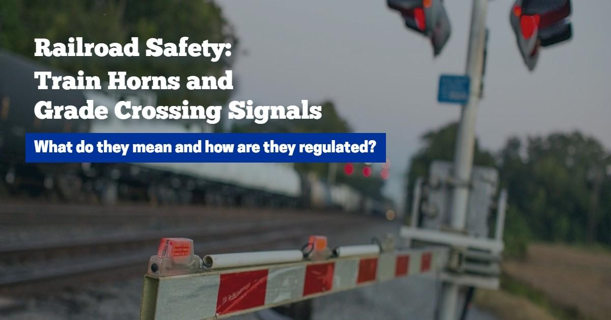 Original | Railroad Safety Horns and Signals