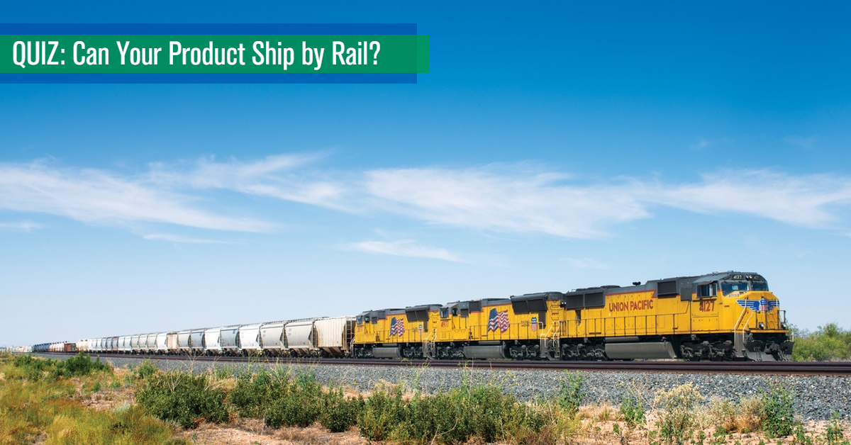 Can Your Product Ship by Rail Quiz MAIN