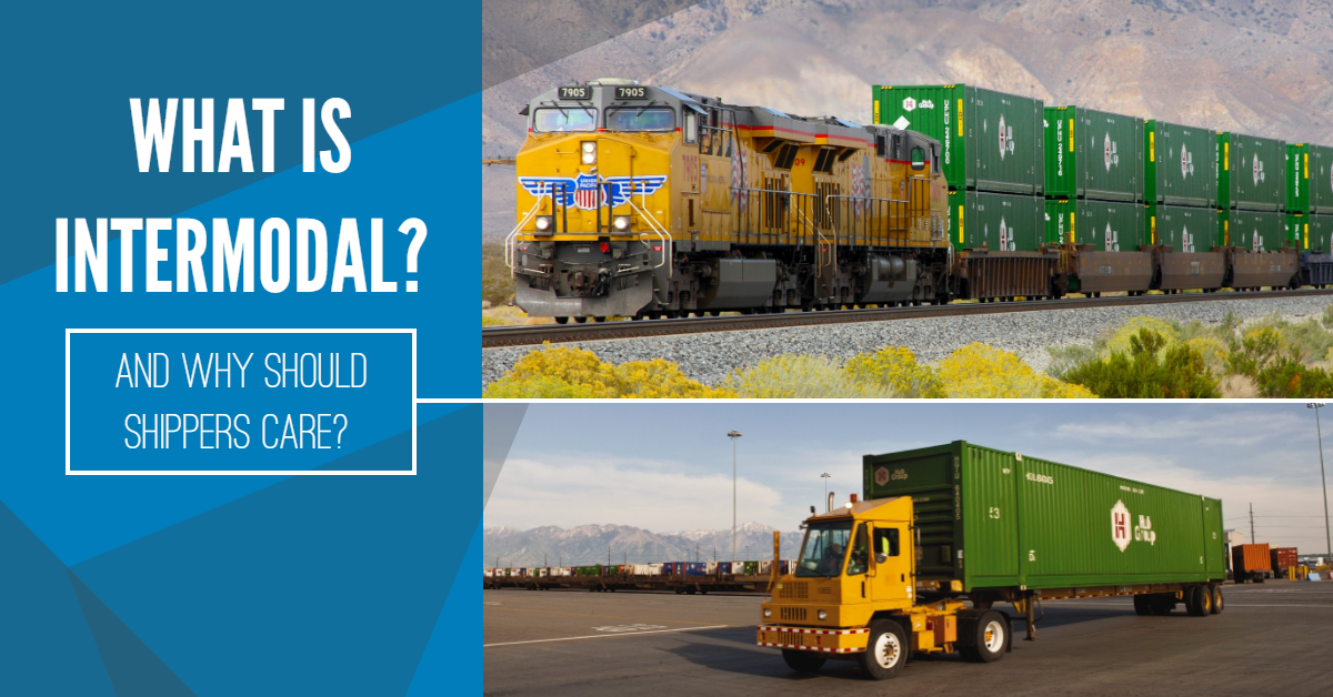 What Is Intermodal MAIN