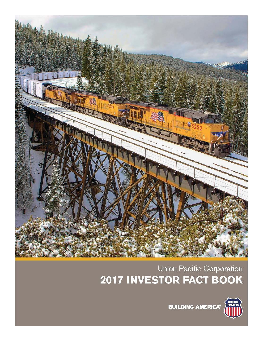 2017 Investor Fact Book Cover 2