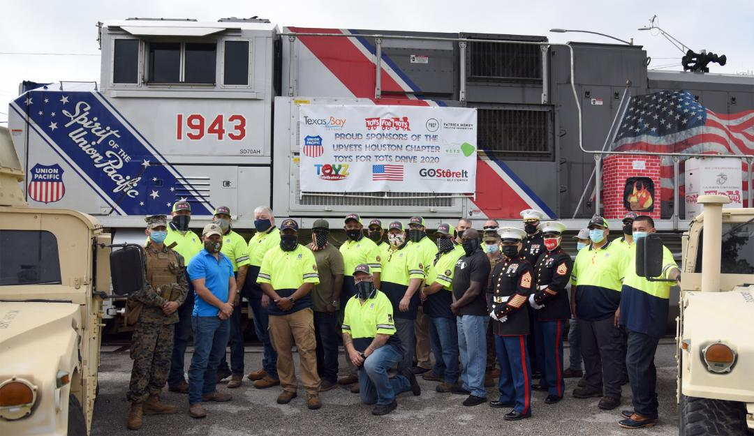 UPVETS Houston Chapter - 2020 Toys For Tots Drive