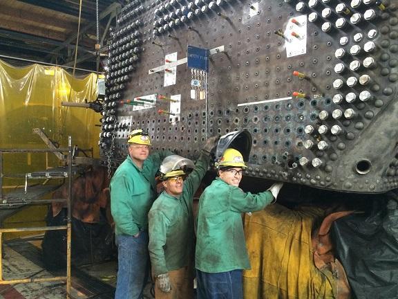 UP: No. 844 Boiler Work Entering Final Stages