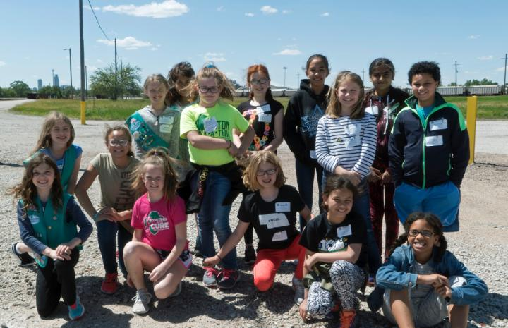 Medium | Girl Scouts Visit Council Bluffs Yard