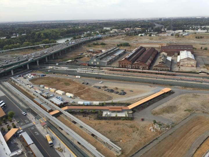 Sac Yard from Above