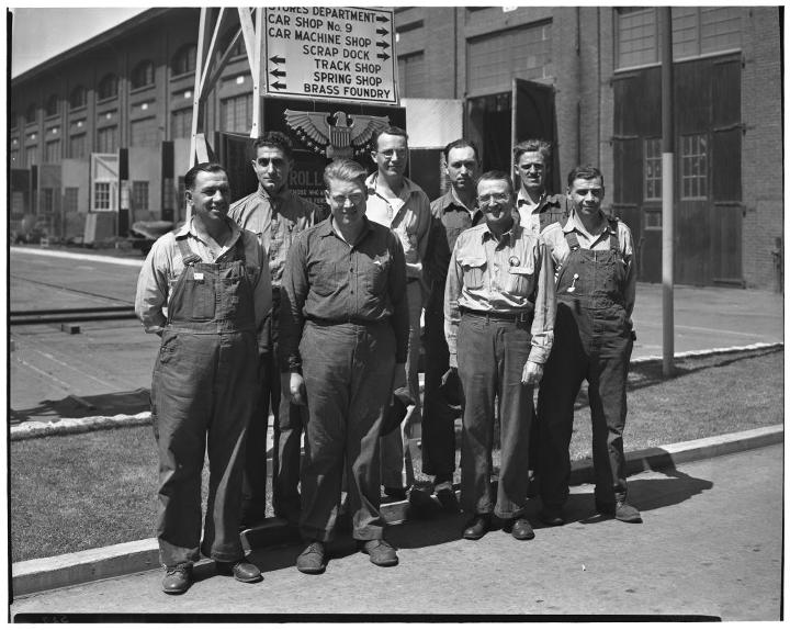Southern Pacific Employees - WWII