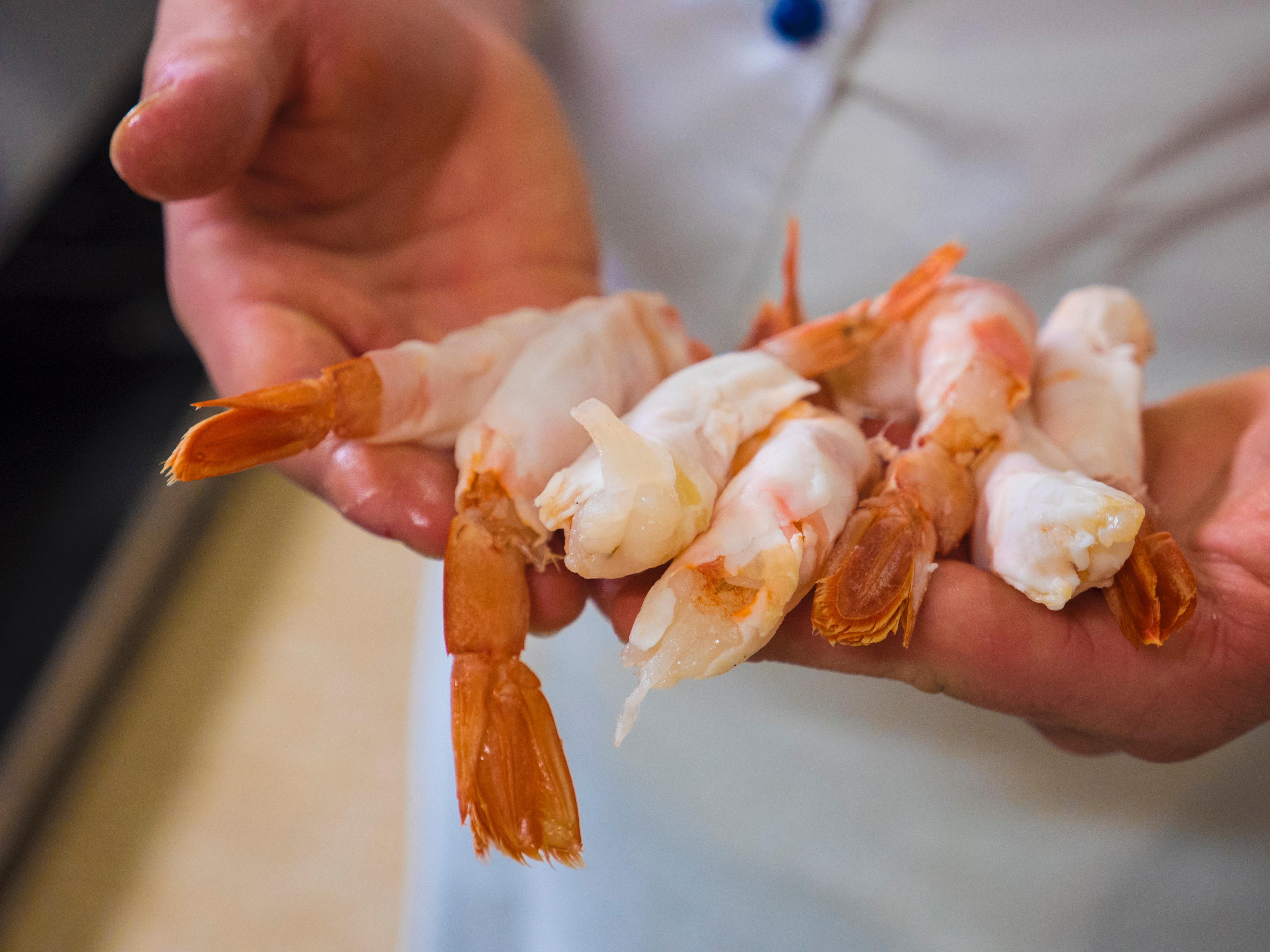 Americans love shrimp