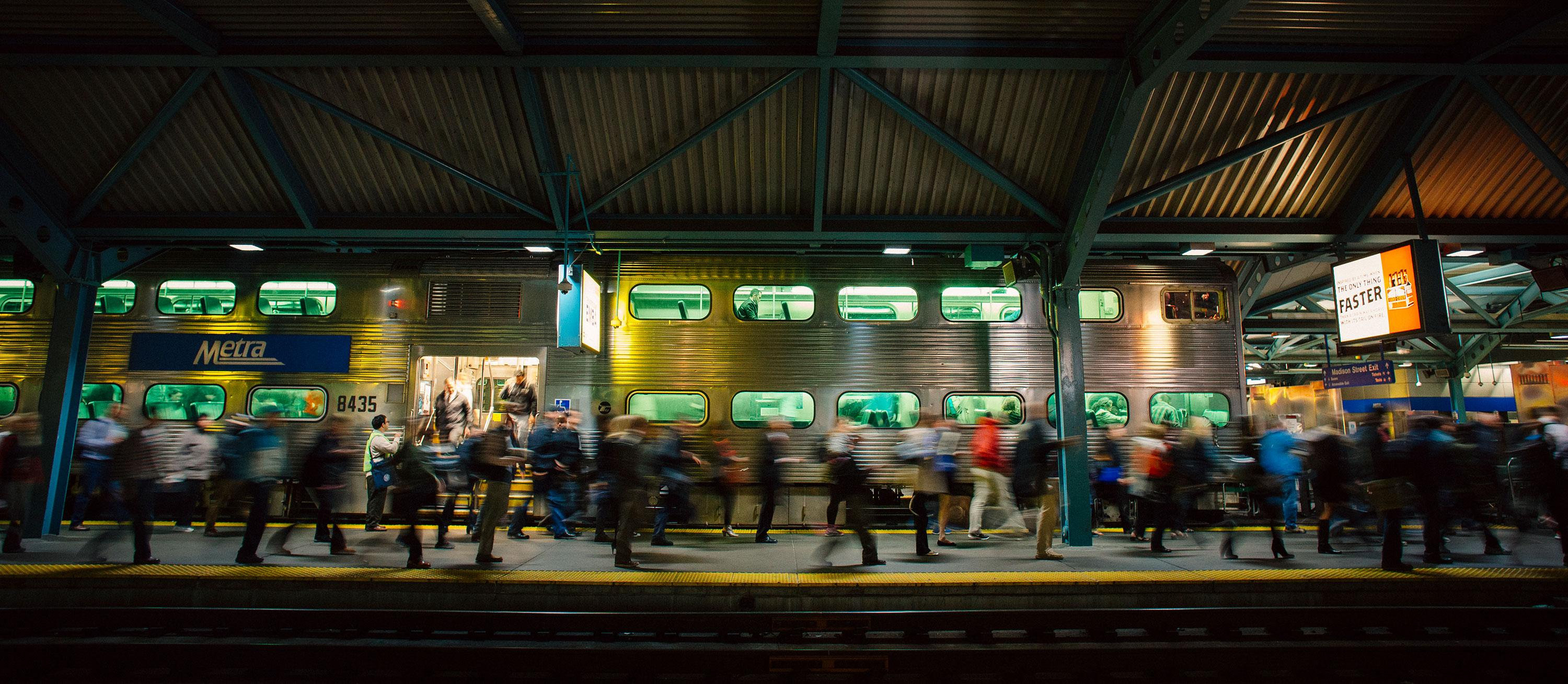 Up Chicago Balancing Freight And Commuters At The World