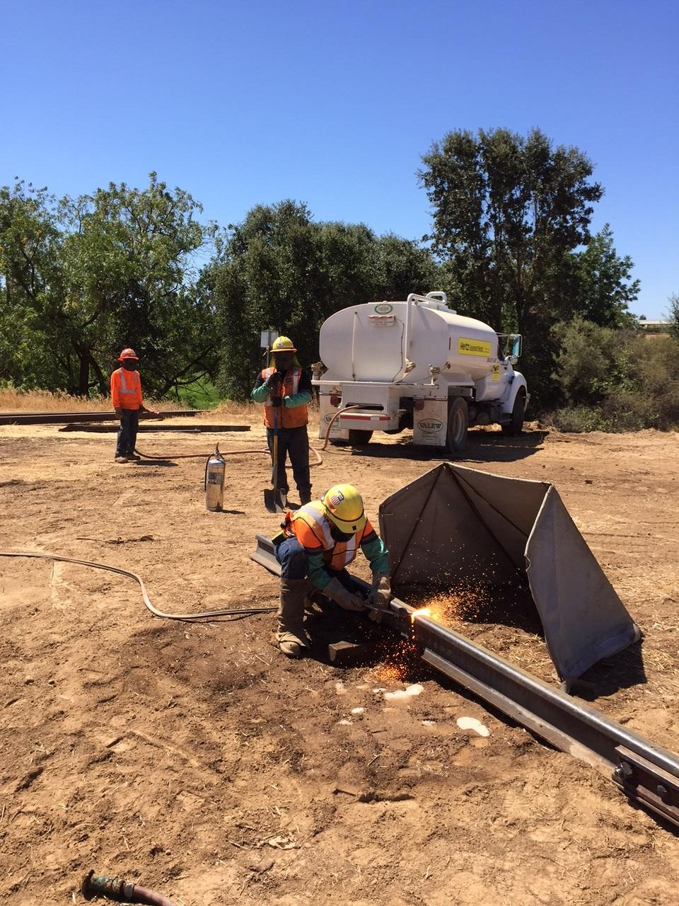 Welding Tent - California Fire