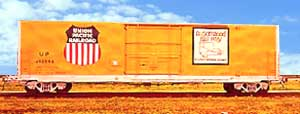 UP Box car