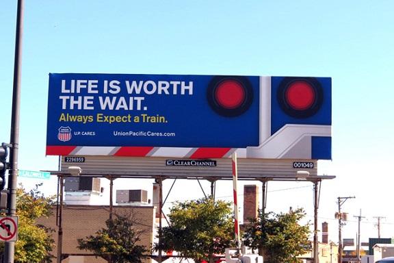 Laredo Is Safe Billboard