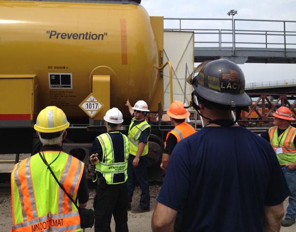 up cities responders study hazmat safety