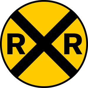 Image result for railroad crossing