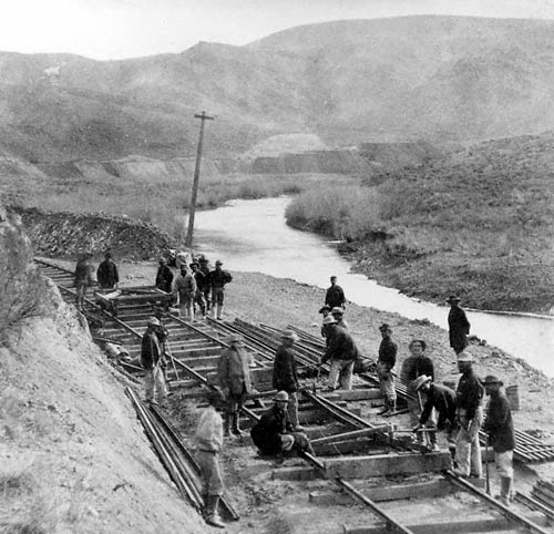 how did the transcontinental railroad affect Following is a look at the effect that railroads had on the  meeting of the  transcontinental railroad at promontory point, utah on may 10, 1869.
